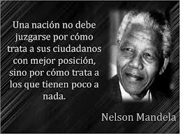 Mandela Una Persona Imprescindible El Mundo Sólo Tiene