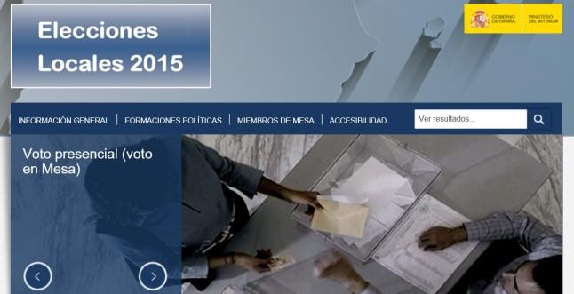 ELECCIONES LOCALES 2015