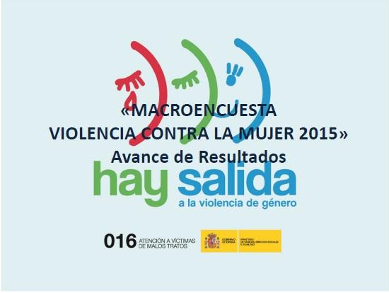 MACROENCUESTA VIOLENCIA GENERO 2015